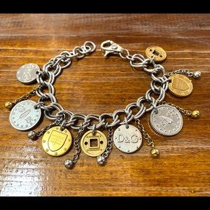 Dolce and Gabbana rare coin bracelet